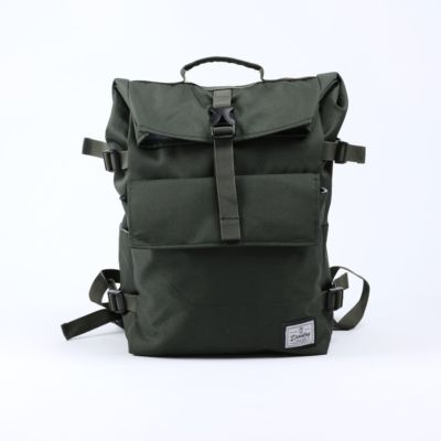 Tas Backpack rolltop moscow bag army