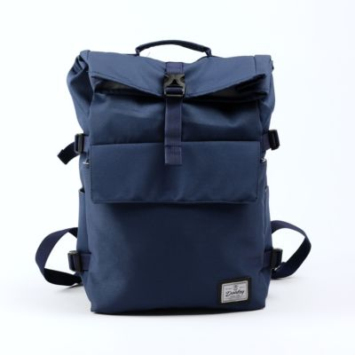 Tas Backpack rolltop moscow bag navy