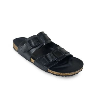 Sandal Kasual Gabriel Full Black