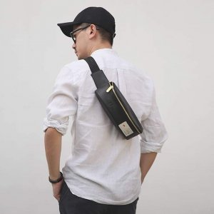 Tas Waist Bag Jogger Bag 201 Black