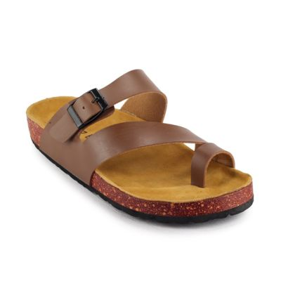 Sandal Jepit Kasual Kagura Brown