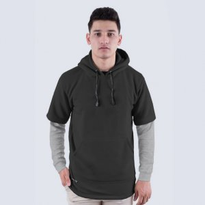 Sweater Hoodie {ascal Black Light Misty