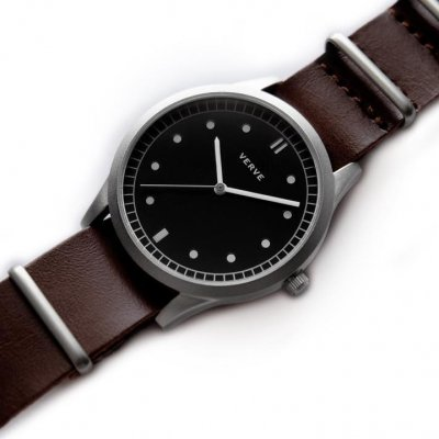 jam tangan pria matrix brown