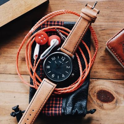 jam tangan pria monaco midnight brown