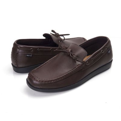 Sepatu slipon loafer lick special brown
