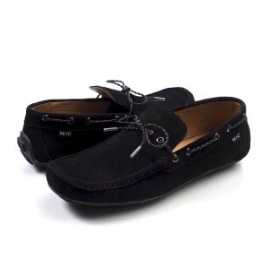 Sepatu Moccasin SLipon New Lick Black