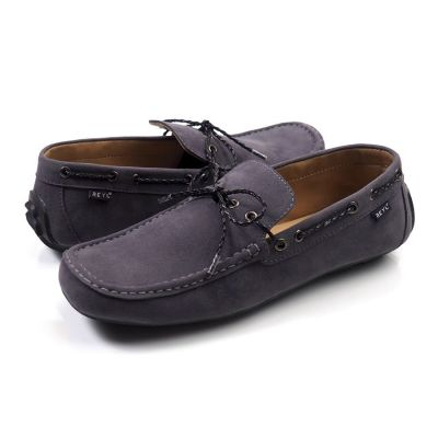 Sepatu Moccasin SLipon New Lick Grey