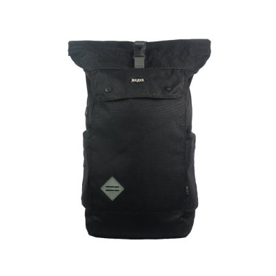Tas Backpack Mainz Rolltop Black