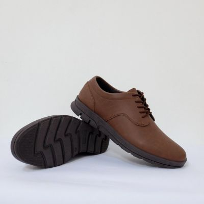 Sepatu semi formal arfa royal brown