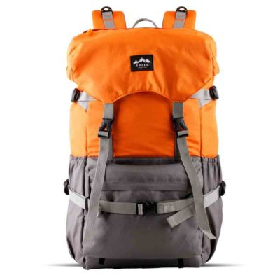 Tas Backpack Travel Peak Orange Grey