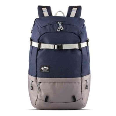Tas Backpack Travelling Summit Navy Grey