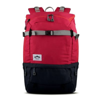 Tas Backpack Travelling Summit Red Navy