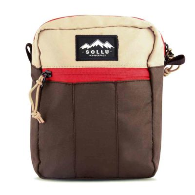 Tas mini slingbaga selempang tactic Khaki Brown
