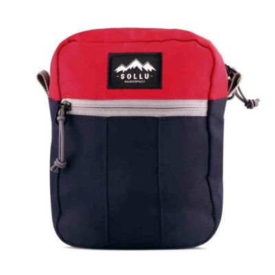 Tas mini slingbaga selempang tactic Red Navy