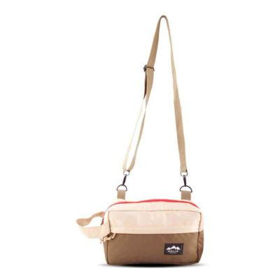 Tas Selempang Slingbag Pouch nosic beige brown