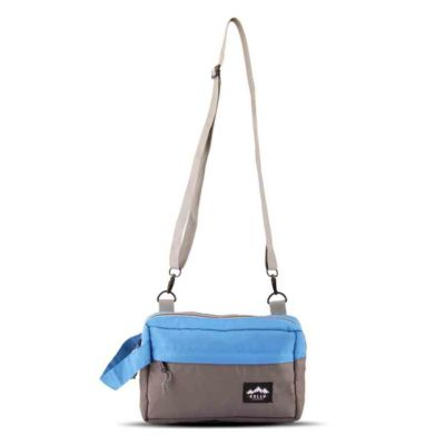 Tas selempang slingbag pouch Nosic Blue Grey