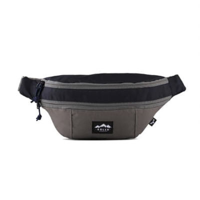 Tas Waistbag Hipster Navy Grey
