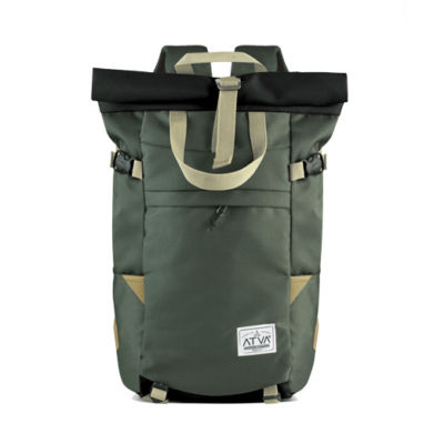 Tas Punggung Backpack Travel Harrier Olive Black
