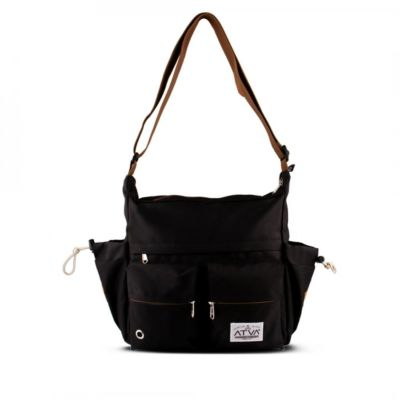 Tas mesenger Bounce Black