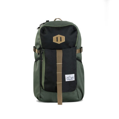 Tas Ransel Backpack Elbe Olive Black
