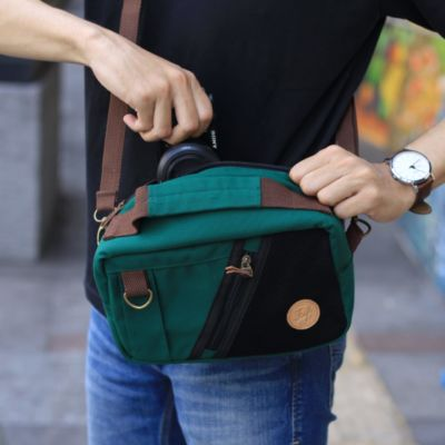 Tas slingbag kamera carrick Green
