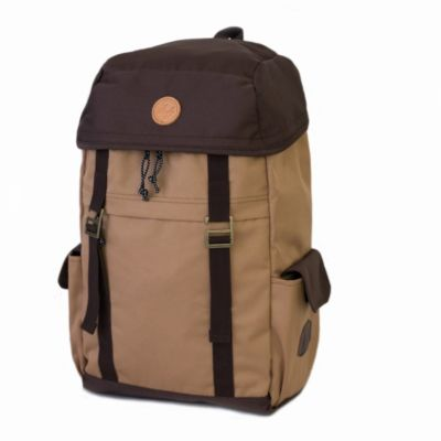 Tas Backpack traveller unisex irvine Khaki