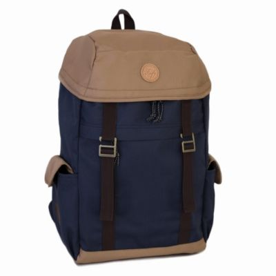 Tas Backpack traveller unisex irvine Navy