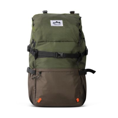 Tas Backpack Daypack Caldera Olive brown