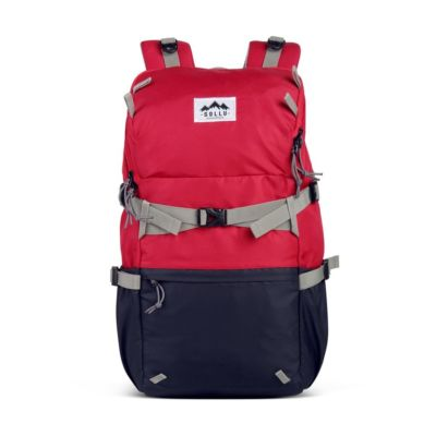 Tas Backpack Daypack Caldera Red Navy