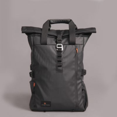 Tas Backpack Rolltop Lanspresado Black