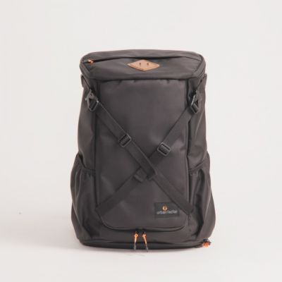 Tas Backpack Travel Stocky Black