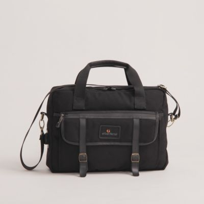 Tas selempang messenger Brilliant Black