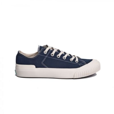 Sepatu kets sneakers vulcanized Earth Basic Navy