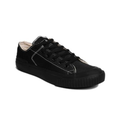 Sepatu kets sneakers vulcanized Earth Basic Full Black