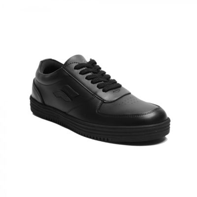 Sepatu sneakers sporty wave black
