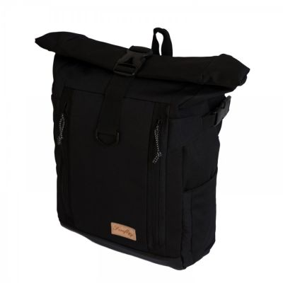 Tas Travel Rolltop Backpack Cavhez Black