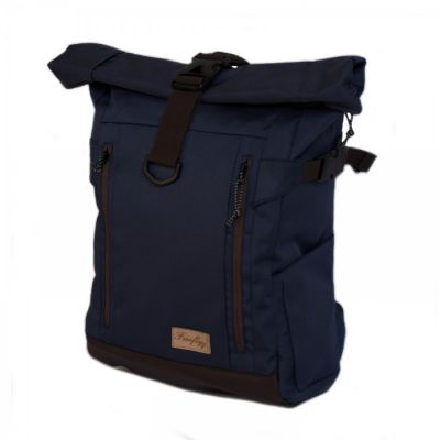 Tas travel rolltop backpack cavhez navy