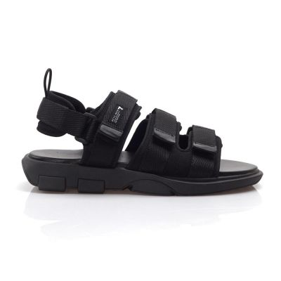 Sandal sepatusandal gunung kasual secret full black