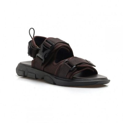 Sandal strap unisex kind brown