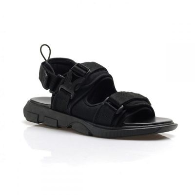 Sandal gunung strap unisex kind full black